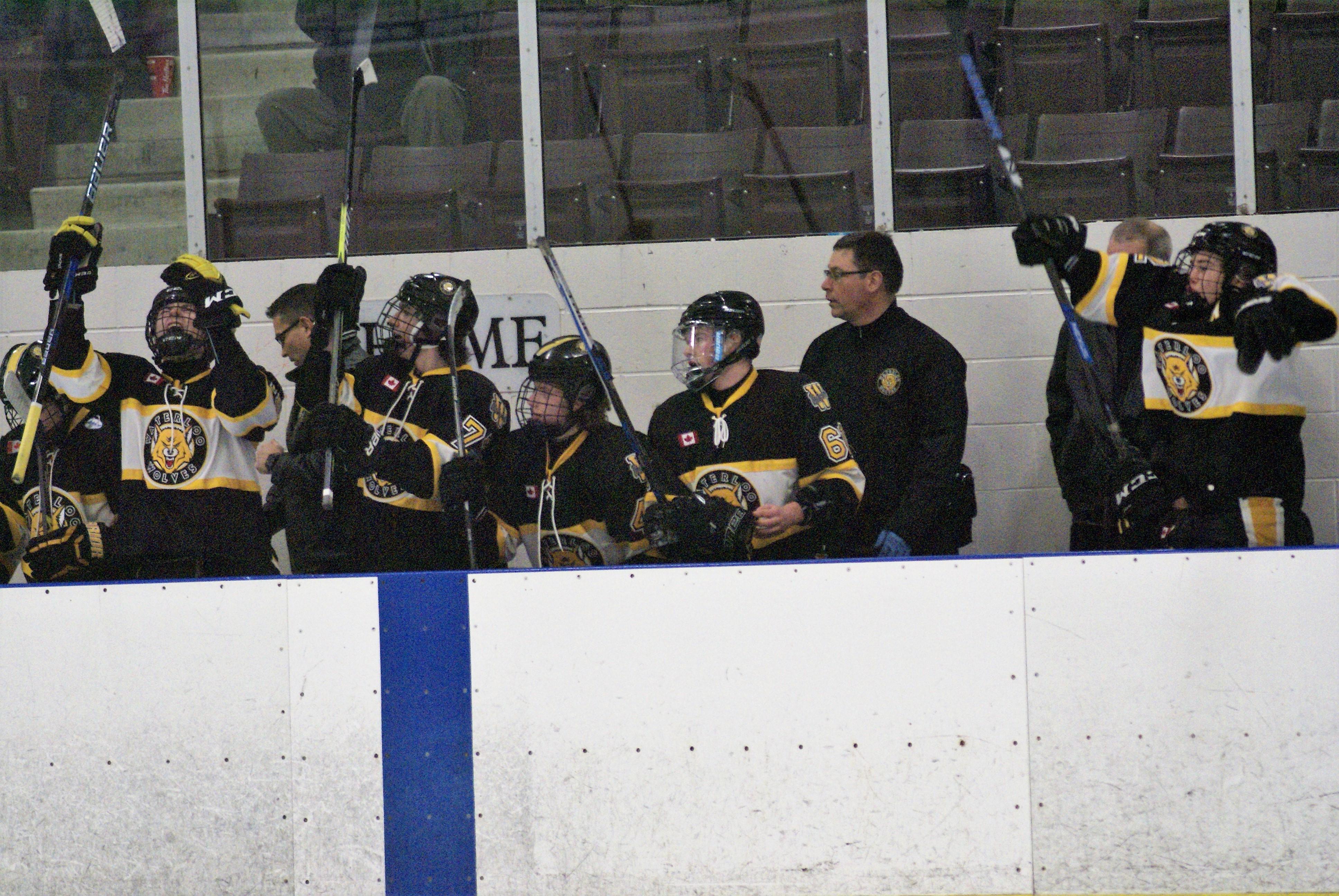 Waterloo wolves aaa midget hockey