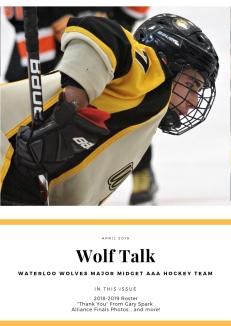 wolf talk april 2019